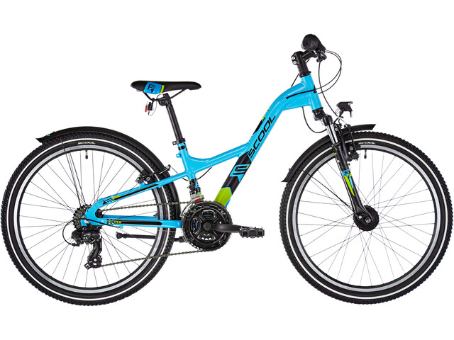 s'cool XXlite 24 21-S alloy Kids, lightblue matt